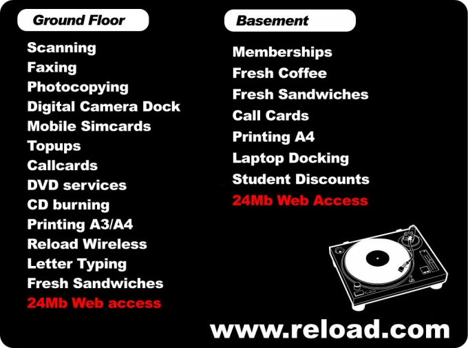 Directory of products and services