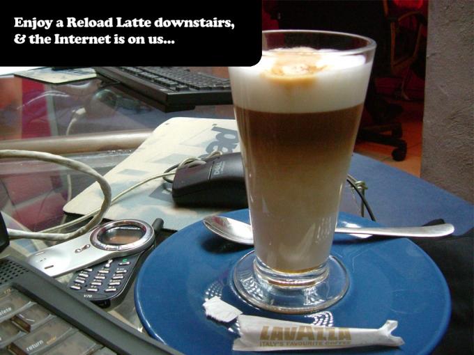 enjoy a latte