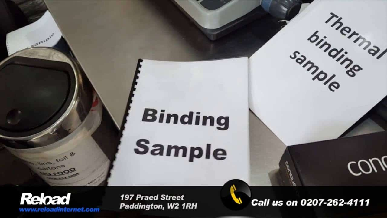 dissertation binding service in london