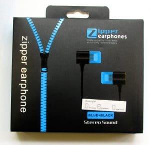 Earphone with Zipper