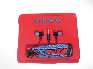 High Performance Stereo Earphone with Zipper