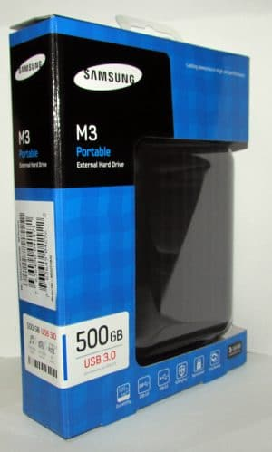 SAMSUNG External hard drive 500GB