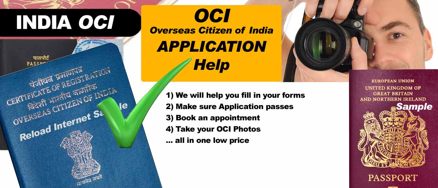 Get An Oci Visa Card We Are Oci Agents In London Oci Application Help