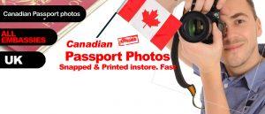 Canadian passport photo