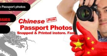 Passport Photos and Visa Photos for China