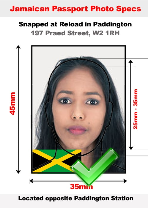 Jamaican passport photo