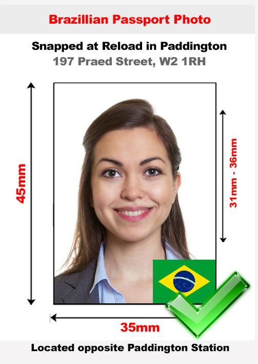 Brazilian Passport Photo
