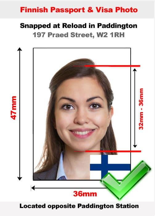 Finnish Passport Photo