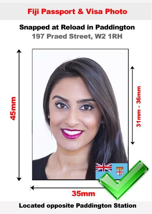 Fiji passport photo