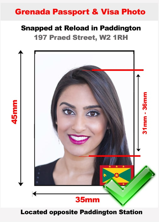 Grenada Passport Photo