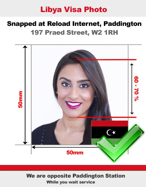 Libya Visa Photo
