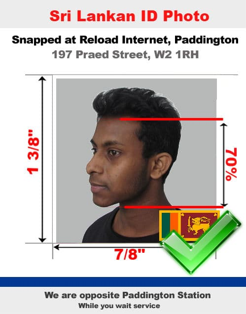 Sri lankan national identity card nic photo london - Sri lankan passport office in colombo ...