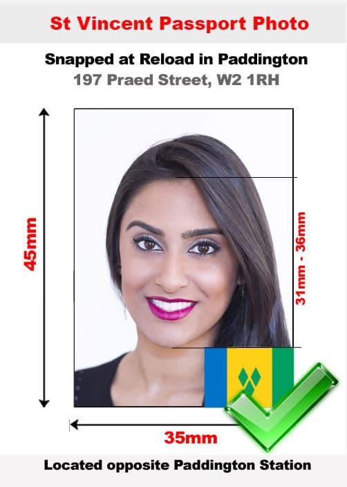 St vincent passport photo