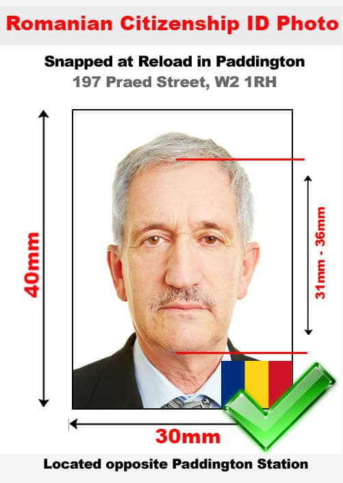 romanian citizenship id photo