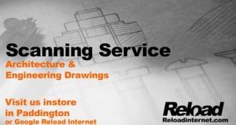Large Format Scanning, Document Scanning Service, Wide Format Scanning – Same day