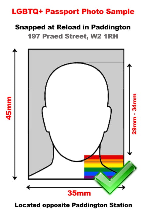 LGBTQ+ Friendly Passport Photo Studio in Central London