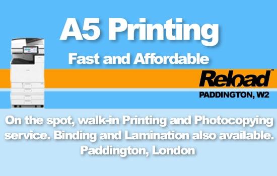 A5 Printing
