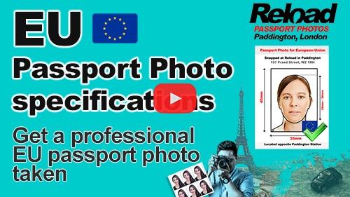 EU Passport Photo