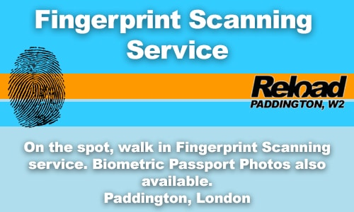 Biometric Fingerprint for Passport