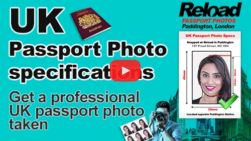 UK Passport Photo