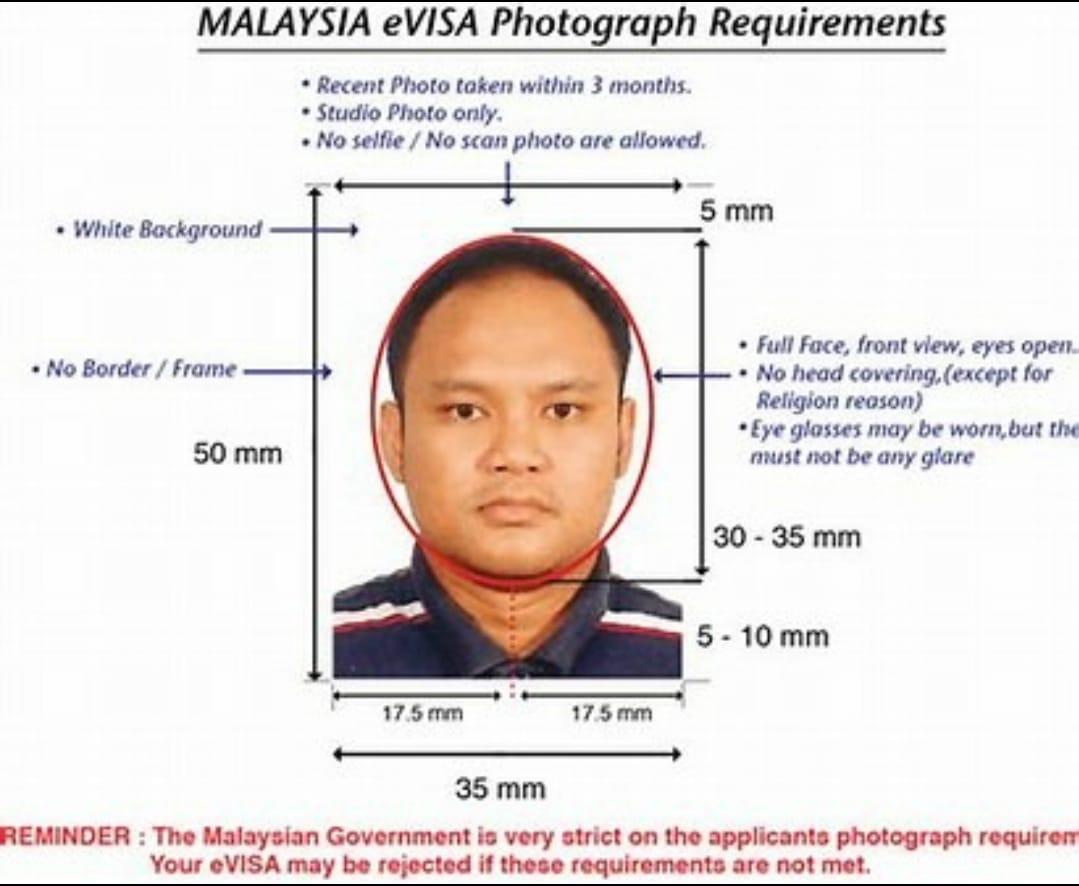 Malaysia eVisa Photo