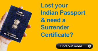 Lost Indian Passport – How do you obtain a Surrender Certificate?