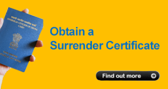 Surrender Certificate Help Guide